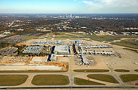 Aerial Photography of the Charlotte Douglas International Airport in Charlotte, North Carolina.<br /> <br /> Charlotte Photographer -PatrickSchneiderPhoto.com
