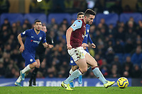 John McGinn of Aston Villa in action during Chelsea vs Aston Villa, Premier League Football at Stamford Bridge on 4th December 2019