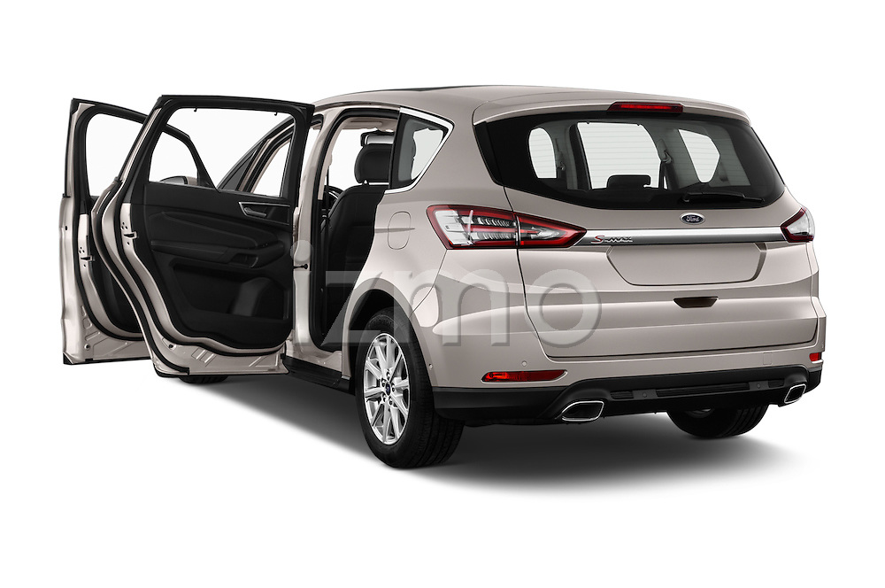Car images of 2016 Ford S-Max Titanium 5 Door Minivan Doors
