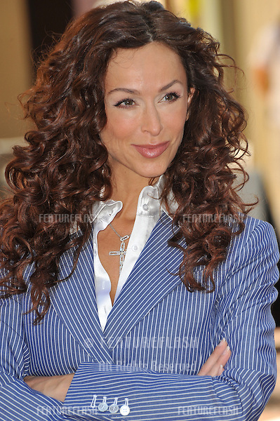 """CSI Miami"" stars Sofia Milos at press event to launch ""The Rally for Kids with Cancer Scavenger Cup"" at The Americana at Brand Shopping Centre, Glendale, California..The rally will be held on May 2nd in Los Angeles and will raise money for Childrens Hospital Los Angeles and Parents Against Cancer..March 31, 2009  Los Angeles, CA.Picture: Paul Smith / Featureflash"