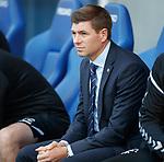 23.08.2018 Rangers v Ufa: Steven Gerrard