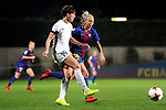 Spanish Women's Football League Iberdrola 2017/18 - Game: 9.<br /> FC Barcelona vs Madrid CFF: 7-0.<br /> Marta Garcia vs Toni Duggan.