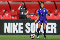Bridgeview, IL - Saturday July 22, 2017: Kristen Edmonds during a regular season National Women's Soccer League (NWSL) match between the Chicago Red Stars and the Orlando Pride at Toyota Park. The Red Stars won 2-1.