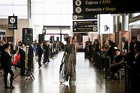 BOGOTA - COLOMBIA - 18 - 05 - 2016: Se lleva a cabo Bogota Fashion Week, con desfiles en diferentes localidades como la terminal aérea de Bogota, El Aeropuerto Internacional El Dorado, donde se realizan desfiles todos los días en las horas de la tarde, donde se realizo la Performance Nuevos Talentos. / Takes place Bogota Fashion Week with parades in different places such as the airport in Bogota, El Dorado International Airport, where parades take place every day in the afternoon, where the New Talent Performance was held. Photo: VizzorImage / Ivan Valencia / Cont.