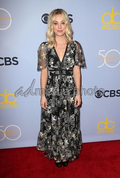 "04 October 2017 - Los Angeles, California - Kaley Cuoco. CBS ""The Carol Burnett Show 50th Anniversary Special"". Photo Credit: F. Sadou/AdMedia"