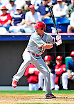 14 March 2010: St. Louis Cardinals' outfielder Colby Rasmus in action during a Spring Training game against the Washington Nationals at Space Coast Stadium in Viera, Florida. The Cardinals defeated the Nationals 7-3 in Grapefruit League action. Mandatory Credit: Ed Wolfstein Photo