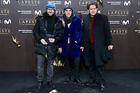 Santiago Segura (L) and Pedro Casablanc (R) attends to the premiere of 'La Peste' at Callao Cinemas in Madrid, Spain. January 11, 2018. (ALTERPHOTOS/Borja B.Hojas) /NortePhoto.com NORTEPHOTOMEXICO
