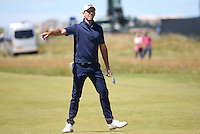 Charl Schwartzel (RSA) during Round One of the 145th Open Championship, played at Royal Troon Golf Club, Troon, Scotland. 14/07/2016. Picture: David Lloyd | Golffile.<br /> <br /> All photos usage must carry mandatory copyright credit (&copy; Golffile | David Lloyd)