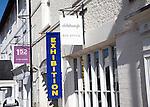 Box office exhibition sign, Aldeburgh, Suffolk