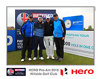Brandon Stone (RSA) on the 10th tee during the Pro-Am of the Betfred British Masters 2019 at Hillside Golf Club, Southport, Lancashire, England. 08/05/19<br /> <br /> Picture: Thos Caffrey / Golffile<br /> <br /> All photos usage must carry mandatory copyright credit (&copy; Golffile | Thos Caffrey)