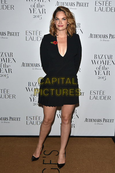 Ruth Wilson<br /> Harper's Bazaar Women of the Year 2015 awards,  Claridges Hotel n London, November 03, 2015.<br /> CAP/PL<br /> &copy;Phil Loftus/Capital Pictures