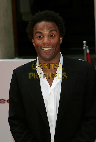 RAY FEARON.Red Carpet Arrivals at The British Academy Television Awards (BAFTA) Sponsored by Pioneer, held at the London Palladium, London, England. .May 20th 2007.half length black suit jacket .CAP/AH.©Adam Houghton/Capital Pictures