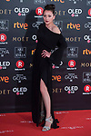 Mariola Fuentes attends red carpet of Goya Cinema Awards 2018 at Madrid Marriott Auditorium in Madrid , Spain. February 03, 2018. (ALTERPHOTOS/Borja B.Hojas)