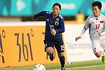 Moeno Sakaguchi (JPN), <br /> AUGUST 21, 2018 - Football / Soccer : <br /> Women's Group C match <br /> between Japan 7-0 Vietnam<br /> at Jakabaring Sport Center Gelora Sriwijaya <br /> during the 2018 Jakarta Palembang Asian Games <br /> in Palembang, Indonesia. <br /> (Photo by Yohei Osada/AFLO SPORT)