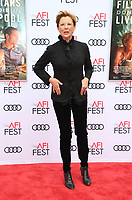 HOLLYWOOD, CA - NOVEMBER 12: Annette Bening, at the Film Stars Won't Die In Liverpool Special Screening AFI Fest 2017 at the TCL Chinese Theatre in Hollywood, California on November 12, 2017. Credit: Faye Sadou/MediaPunch /NortePhoto.com