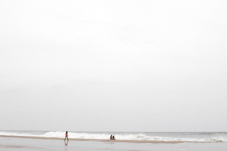 La Bocana de Copalito, one of the best surfing beaches on the Mexican Pacific coast.  Huatulco, Oaxaca.
