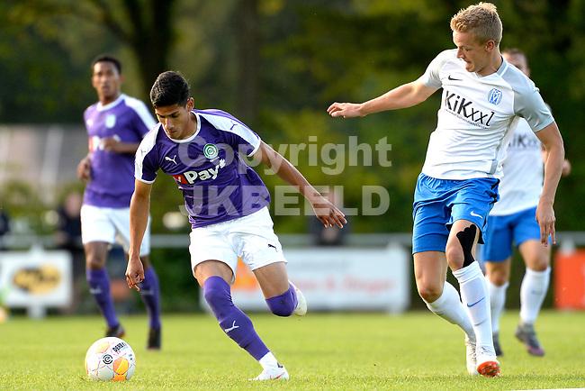 NORG - Voetbal, FC Groningen - SV Meppen, voorbereiding seizoen 2018-2019, 13-07-2018, FC Groningen speler Uriel Antuna