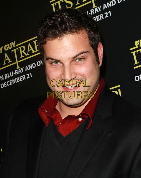 "MAX ADLER.""Family Guy Presents: It's a Trap"" DVD Launch Party held At SupperClub, Hollywood, CA, USA..December 14th, 2010.headshot portrait red black .CAP/ADM/KB.©Kevan Brooks/AdMedia/Capital Pictures."