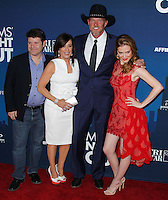 "HOLLYWOOD, LOS ANGELES, CA, USA - APRIL 29: Sean Astin, Patricia Heaton, Trace Adkins, Sarah Drew at the Los Angeles Premiere Of TriStar Pictures' ""Mom's Night Out"" held at the TCL Chinese Theatre IMAX on April 29, 2014 in Hollywood, Los Angeles, California, United States. (Photo by Xavier Collin/Celebrity Monitor)"