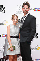 Joanne Froggatt and husband James Cannon<br /> at the South Bank Sky Arts Awards 2017, Savoy Hotel, London. <br /> <br /> <br /> &copy;Ash Knotek  D3288  09/07/2017