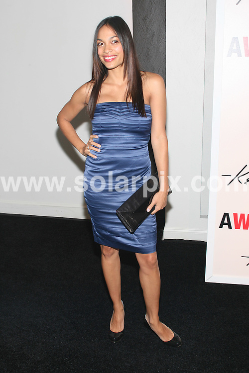 "**ALL ROUND PICTURES FROM SOLARPIX.COM**.**SYNDICATION RIGHTS FOR UK, SPAIN, PORTUGAL, AUSTRALIA, S.AFRICA & DUBAI (U.A.E) ONLY**.Kenneth Cole Hosts Book Launch for ""Awearness: Inspiring Stories About How to Make a Difference"" with Contributor and Co-Host Rosario Dawson. Kenneth Cole New York, 107 East 42nd Street / New York City, NY, USA. 12th November 2008..This pic: Rosario Dawson..JOB REF: 7874 PHZ (Gaboury)   DATE: 12_11_2008.**MUST CREDIT SOLARPIX.COM OR DOUBLE FEE WILL BE CHARGED* *UNDER NO CIRCUMSTANCES IS THIS IMAGE TO BE REPRODUCED FOR ANY ONLINE EDITION WITHOUT PRIOR PERMISSION*"