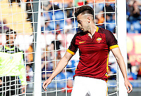 Calcio, Serie A: Roma vs Napoli. Roma, stadio Olimpico, 25 aprile 2016.<br /> Roma&rsquo;s Stephan El Shaarawy reacts during the Italian Serie A football match between Roma and Napoli at Rome's Olympic stadium, 25 April 2016.<br /> UPDATE IMAGES PRESS/Riccardo De Luca