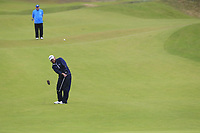 J.B. Holmes (USA) chips into the 8th green during Sunday's Final Round of the 148th Open Championship, Royal Portrush Golf Club, Portrush, County Antrim, Northern Ireland. 21/07/2019.<br /> Picture Eoin Clarke / Golffile.ie<br /> <br /> All photo usage must carry mandatory copyright credit (© Golffile | Eoin Clarke)
