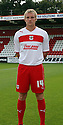 Mark Roberts of Stevenage. Stevenage FC photoshoot -  Lamex Stadium, Stevenage . - 16th August, 2012. © Kevin Coleman 2012