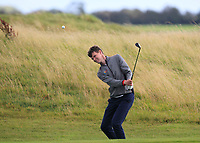 David Brady (Co. Sligo) on the 14th fairway during the Connacht Final of the AIG Barton Shield at Galway Bay Golf Club, Galway, Co Galway. 11/08/2017<br /> <br /> Picture: Golffile | Thos Caffrey<br /> <br /> <br /> All photo usage must carry mandatory copyright credit     (&copy; Golffile | Thos Caffrey)