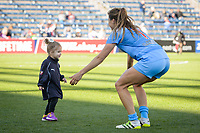 Bridgeview, IL - Saturday May 06, 2017: Sofia Huerta after a regular season National Women's Soccer League (NWSL) match between the Chicago Red Stars and the Houston Dash at Toyota Park.