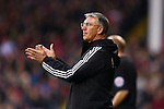 Sheffield United's manager, Nigel Adkins applauds - Sheffield United vs Bradford City - Skybet League One - Bramall Lane - Sheffield - 28/12/2015 Pic Philip Oldham/SportImage