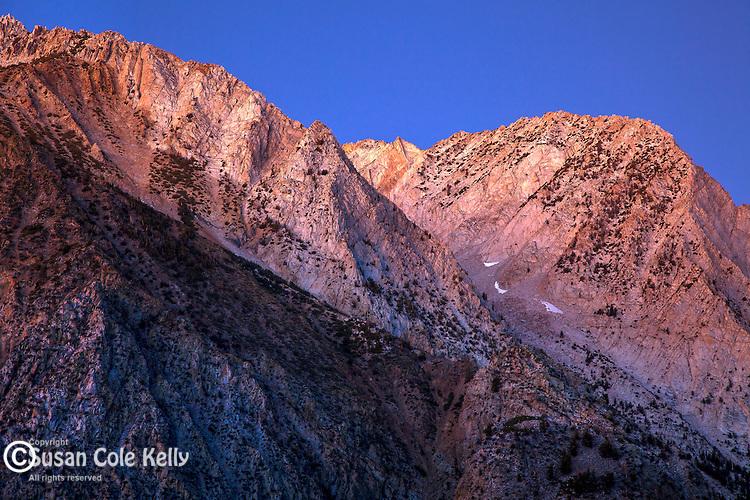 The eastern Sierra Nevada in Lee Vining, CA, USA