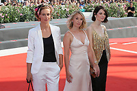 "VENICE, ITALY - September 01:  Yulia Snigir, Ludivine Sagnier, Cecile de France walk the red carpet of ""The New Pope"" screening during the 76th Venice Film Festival  on September 01, 2019 in Venice, Italy. (Photo by Mark Cape/Inside Foto)<br /> Venezia 01/09/2019"
