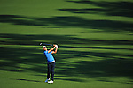 AUGUSTA, GA: APRIL 11 - Sang-Moon Bae of South Korea during the second round of the 2014 Masters held in Augusta, GA at Augusta National Golf Club on Friday, April 11, 2014. (Photo by Donald Miralle)