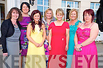 Caroline McCarthy, Sheila Buckley, Norissa O'Donoghue, Brenadine Roche, Joanna Slattery, Lorena O'Connor and Bina O'Leary pictured at the Mayors Ball held in the Dromhall hotel , Killarney on Friday night.