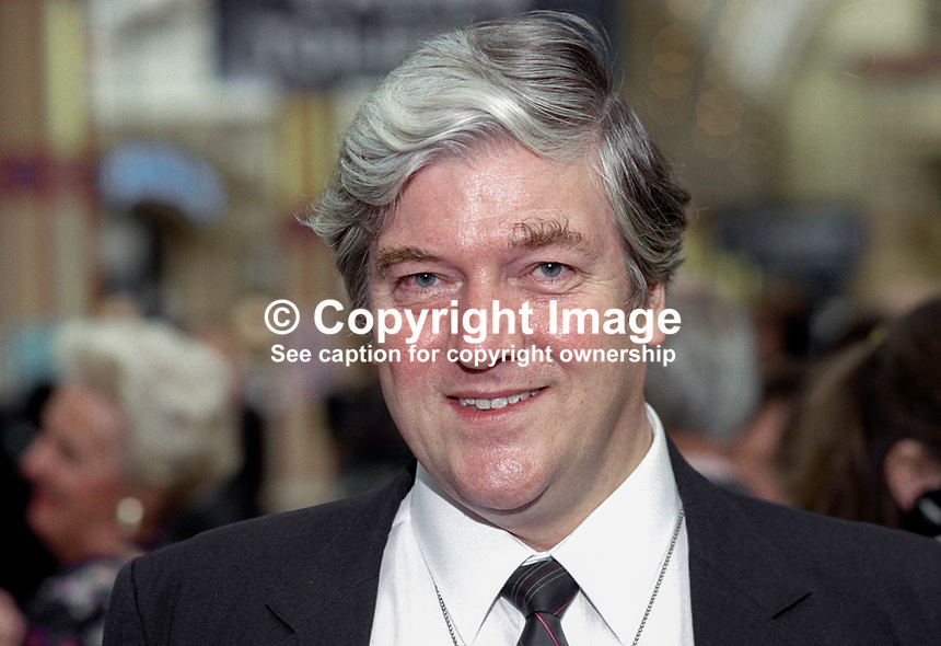 John Watts, Conservative Party, MP, Britain, UK. Taken at 1995 Conservative Conference in Blackpool. Ref: 199510117 <br />