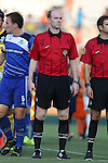 16 August 2014: Assistant referee Ben Jackson III. The Carolina RailHawks played FC Edmonton at WakeMed Stadium in Cary, North Carolina in a 2014 North American Soccer League Fall Season match. Edmonton won the match 3-2.