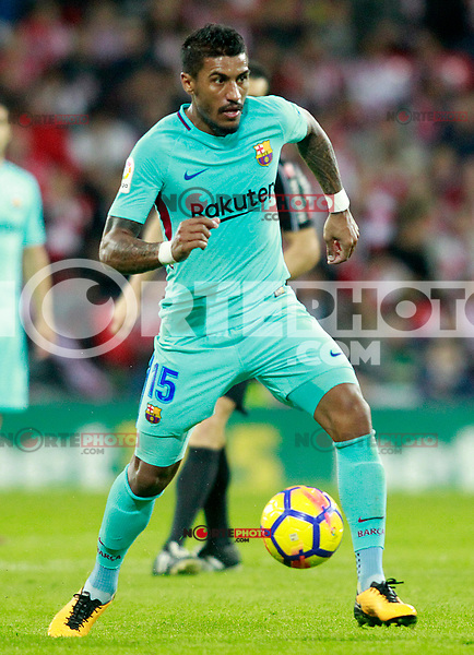 FC Barcelona's Paulinho during La Liga match. October 28,2017. (ALTERPHOTOS/Acero) /NortePhoto.com