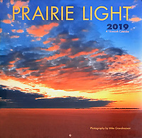 PRODUCT: Calendar<br /> TITLE: Prairie Light Wall 2019<br /> CLIENT: Wyman Publications / Browntrout Canada