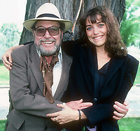 Karen Allen  and Tennesee Williams 1982<br /> Photo By Adam Scull/PHOTOlink /MediaPunch