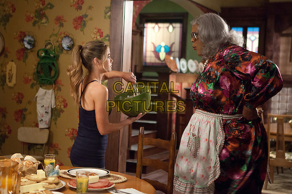 Denise Richards & Tyler Perry .in Tyler Perry's Madea's Witness Protection.*Filmstill - Editorial Use Only*.CAP/FB.Supplied by Capital Pictures.
