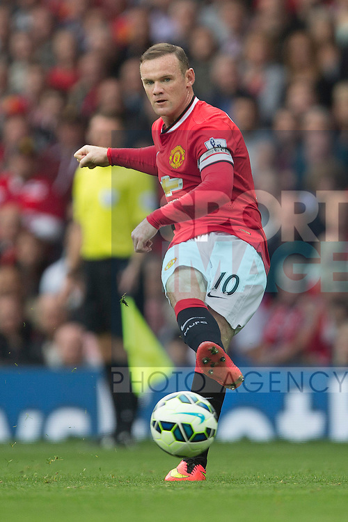 Wayne Rooney of Manchester United - Manchester United vs. QPR - Barclay's Premier League - Old Trafford - Manchester - 13/09/2014 Pic Philip Oldham/Sportimage