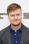 Steven Boyer attends the press photo call for the Roundabout Theatre Company's production of  'Time and the Conways' at The Roundabout Theatre Studios on August 24, 2017 in New York City.