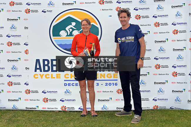 NELSON, NEW ZEALAND - December 3: Abel Tasman Cycle Challenge 2016 on December 3 2016 in Nelson, New Zealand. (Photo by: Barry Whittnall/Shuttersport Limited)