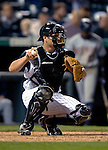 8 September 2006: Chris Iannetta, catcher for the Colorado Rockies, in action against the Washington Nationals. The Rockies defeated the Nationals 11-8 at Coors Field in Denver, Colorado...Mandatory Photo Credit: Ed Wolfstein.