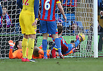 Crystal Palace's Glenn Murray scoring his sides opening goals<br /> <br /> Barclays Premier League - Crystal Palace  vs Arsenal  - Selhurst Park - England - 21st February 2015 - Picture David Klein/Sportimage