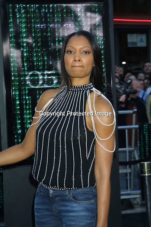 ©2003 KATHY HUTCHINS/HUTCHINS PHOTO.MATRIX RELOADED PREMIERE.WESTWOOD,CA.MAY 7, 2003...GARCELLE BEAUVAIS NILON