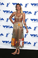 INGLEWOOD, CA - AUGUST 27: Paris Jackson in the press room at the 2017 MTV Video Music Awards At The Forum in Inglewood, California on August 27, 2017. Credit: FS/MediaPunch