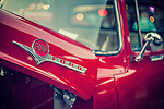 Classic Ford F 100 red truck