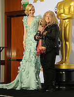 28 February 2016 - Hollywood, California - Cate Blanchett, Jenny Beavan. 88th Annual Academy Awards presented by the Academy of Motion Picture Arts and Sciences held at Hollywood & Highland Center. Photo Credit: Byron Purvis/AdMedia